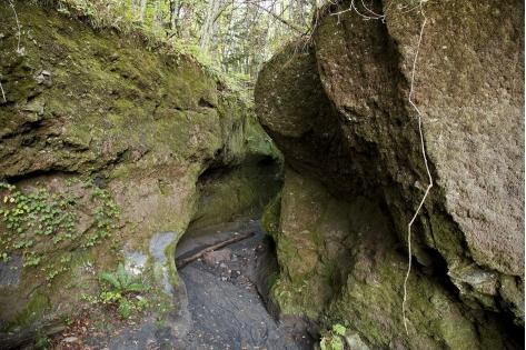 (閉鎖)苔の洞門