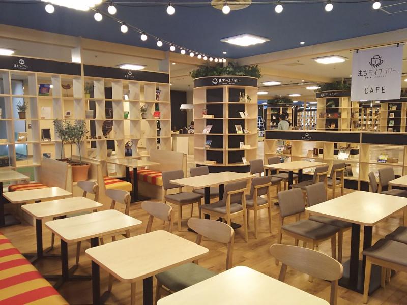 まちライブラリーカフェ 千歳タウンプラザ店