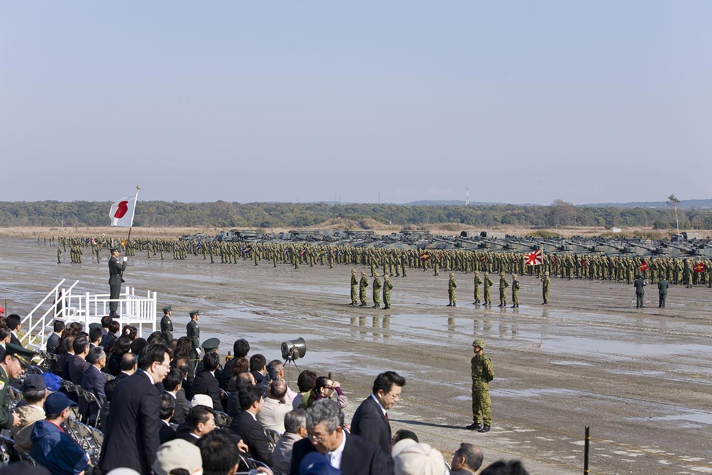 第7師団創隊及び東千歳駐屯地創立記念行事