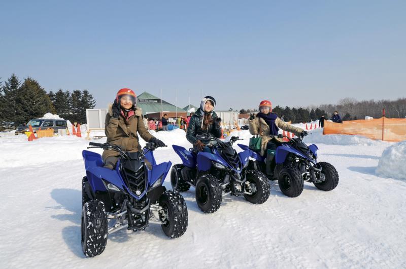 本日オープン♪北海道の冬を楽しむノース・スノーランドin千歳